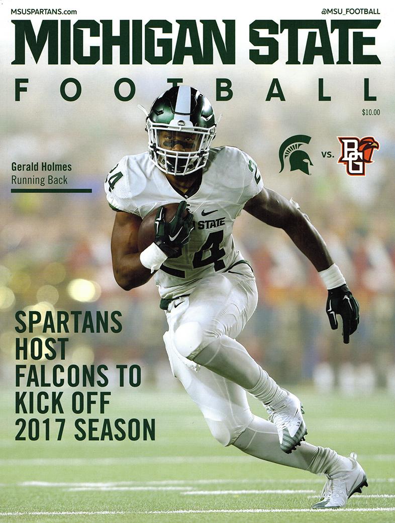 Michigan State Football Game Program