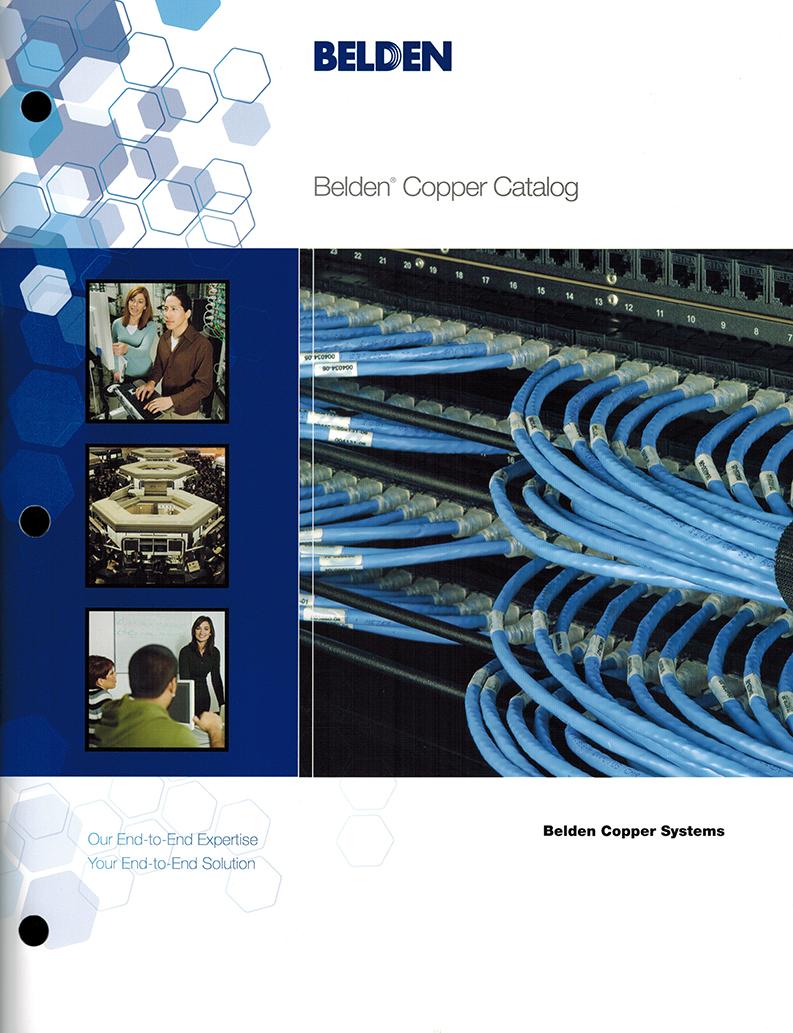 Belden Copper Catalog