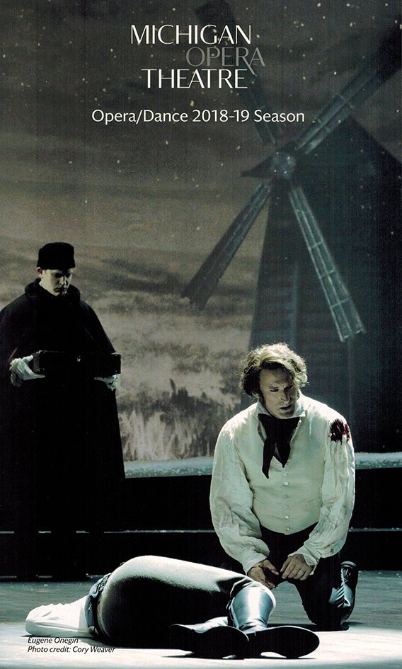 Michigan Opera Theater 2018-2019 Season